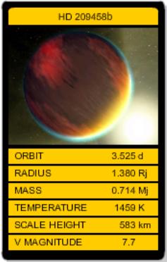 HD 209458b